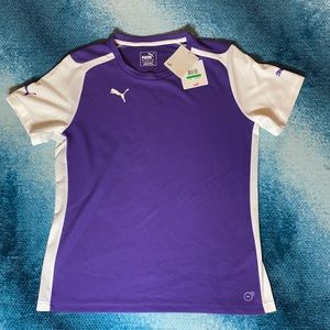 Puma Women's XL Dry Cell top. Violet and w…